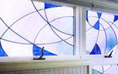 Blue Waves • Andersen Inserts for Bath Window | Chestnut Hill . Massachusetts