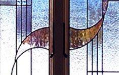 Abstract • Bath Window No. 22 | Wellesley . Massachusetts