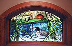 Andersen Stained Glass Arched Windows
