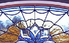 Beveled Stained Glass • Custom Andersen Insert | Sharon . Massachusetts