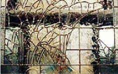 Calla Lily Fireplace Screen | Ipswich . Massachusetts