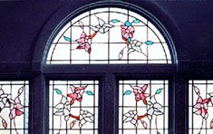 Dogwood Vine Palladian Window | Ipswich . Massachusetts