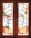 Andersen Stained Glass Frenchwood Patio Doors