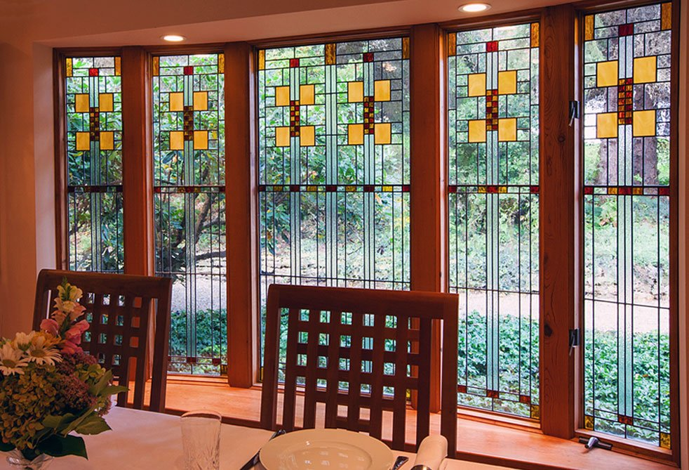 Charmant Frank Lloyd Wright Inspired Gibbons House Window