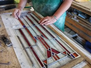 Stained Glass Assembly 2