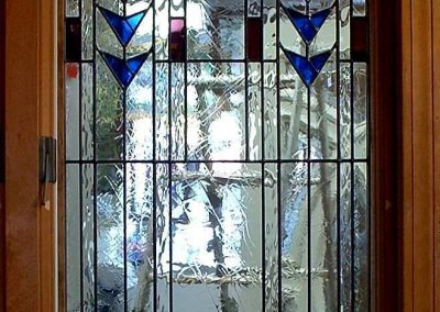 Frank Lloyd Wright stained glass window