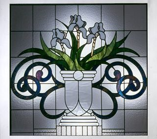 Iris spa window
